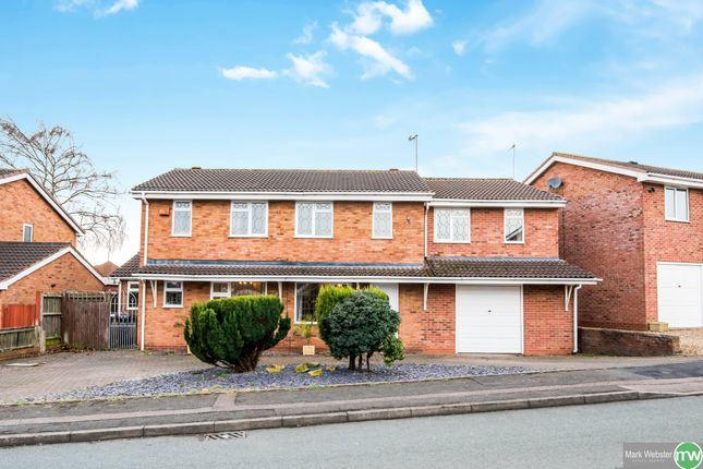 Thumbnail Detached house for sale in Loughshaw, Wilnecote, Tamworth