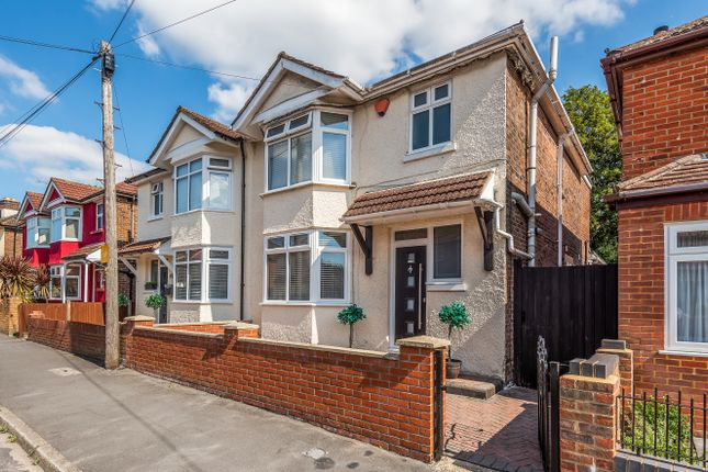 Thumbnail Semi-detached house for sale in Percy Road, Shirley, Southampton