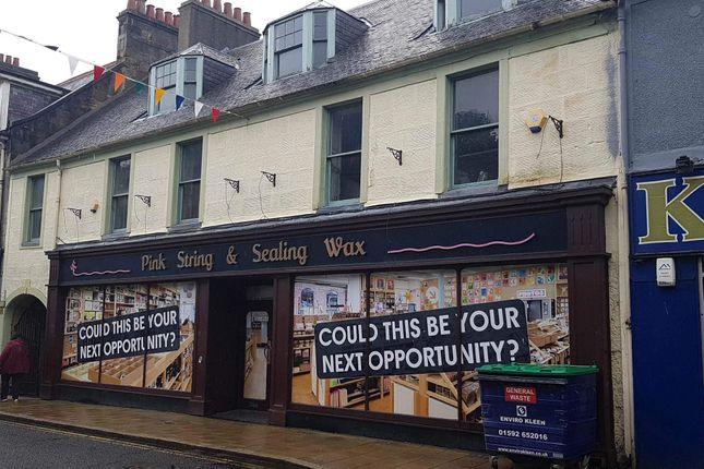 Thumbnail Retail premises to let in Bridge Street, Dunfermline