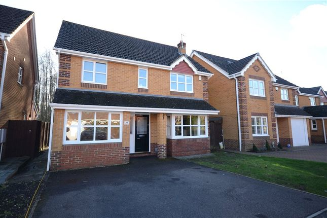 Thumbnail Detached house for sale in Wisley Gardens, Farnborough, Hampshire