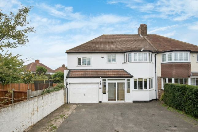 Thumbnail Semi-detached house for sale in Sidcup Road, London