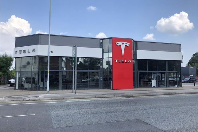 Thumbnail Commercial property for sale in Tesla Motors, 396 Wellington Road North, Heaton Chapel, Stockport, Cheshire