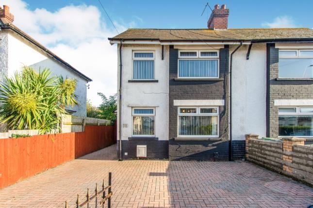 Thumbnail 3 bed semi-detached house for sale in Tweedsmuir Road, Cardiff, Caerdydd