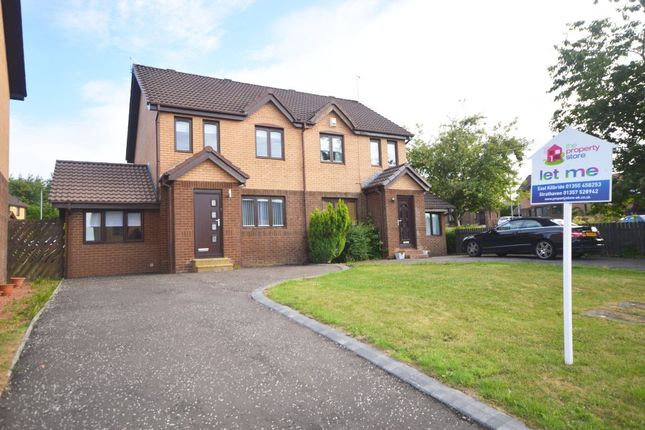 Thumbnail Semi-detached house to rent in Dunvegan Place, East Kilbride, South Lanarkshire
