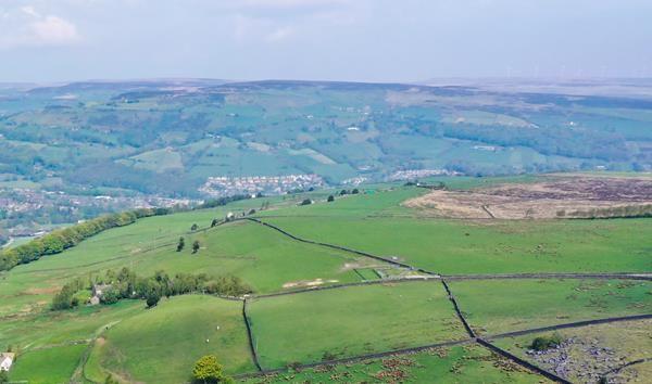 Land for sale in Land Adjacent Wood Top Farm, Cargg Vale, Hebden Bridge