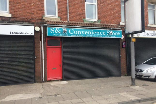 Thumbnail Retail premises to let in Ground Floor, 75 York Road, Hartlepool