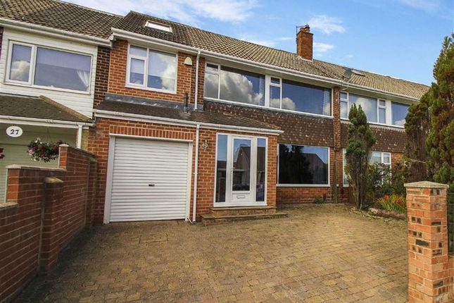 Thumbnail Terraced house for sale in Woodburn Square, Whitley Bay, Tyne And Wear