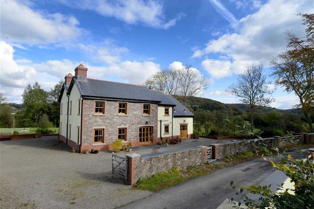 Thumbnail Detached house for sale in Glantwrch Farm, Pumsaint, Llanwrda