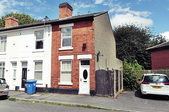 2 bed end terrace house for sale in Moss Street, Stockbrook DE22