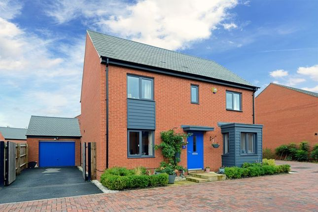 Thumbnail Detached house for sale in 10 Pantulf Close, Lawley, Telford