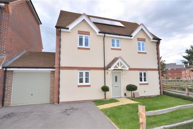 Thumbnail Detached house to rent in Swift Fields, Jennett's Park, Bracknell