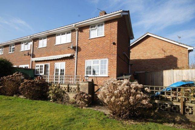 Thumbnail End terrace house for sale in Ashmead, Bordon