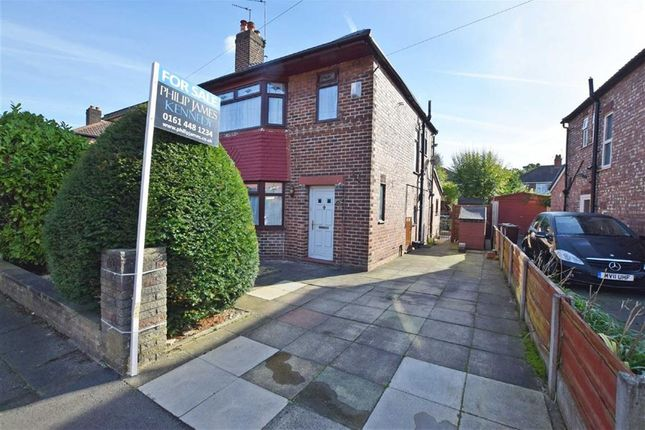 Thumbnail Semi-detached house for sale in Broughville Drive, Didsbury, Manchester