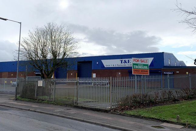 Thumbnail Warehouse for sale in Hickman Avenue, Wolverhampton