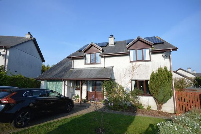 Thumbnail Detached house to rent in Hawkens Way, St. Columb