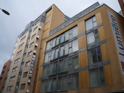 Flat to rent in Lumiere Building, 38 City Road East, Manchester