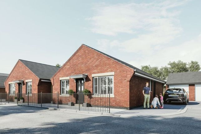 Thumbnail Detached house for sale in The Brambles, The Villas, Market Drayton
