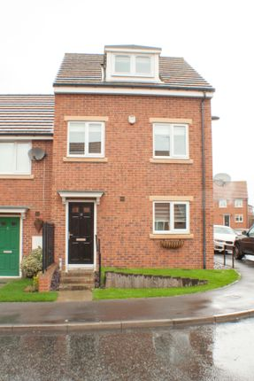 Thumbnail Town House For Sale In Bristol Drive Wallsend