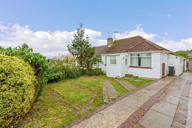 Thumbnail Semi-detached bungalow to rent in Mountview Road, Sompting, Lancing