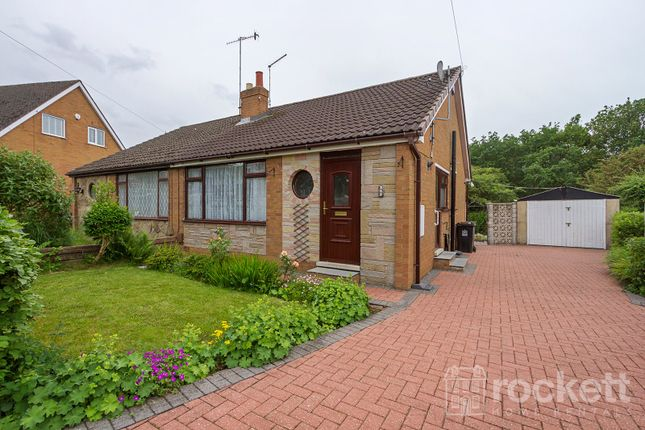 Thumbnail Semi-detached bungalow to rent in Fearns Avenue, Bradwell, Newcastle-Under-Lyme