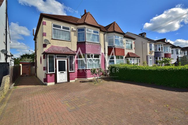 Thumbnail Semi-detached house for sale in Clayhall Avenue, Clayhall, Ilford