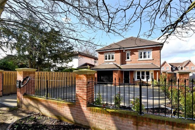 Thumbnail Detached house to rent in Chestnut Avenue, Wokingham, Berkshire