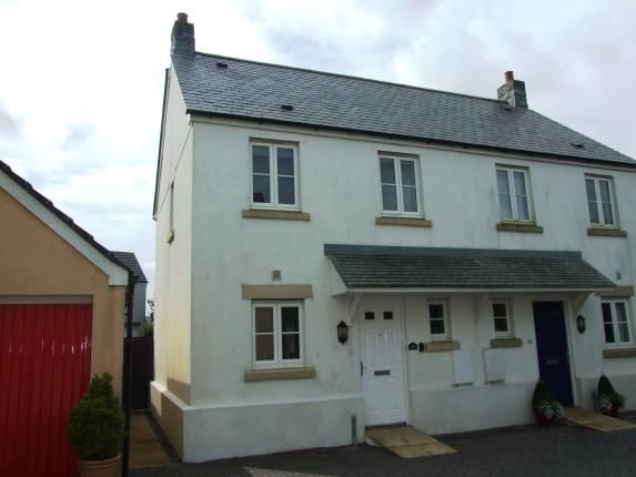 Thumbnail Semi-detached house for sale in Camelford, Cornwall