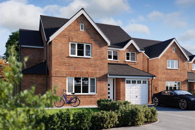 Thumbnail Detached house for sale in Burton Road, Streethay, Lichfield