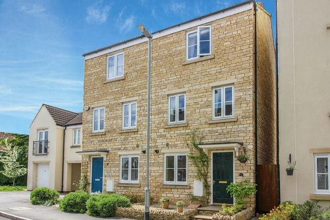 Thumbnail End terrace house for sale in Slipps Close, Frome