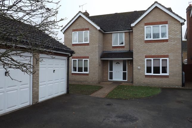 Thumbnail Detached house for sale in Partridge Drive, Thetford