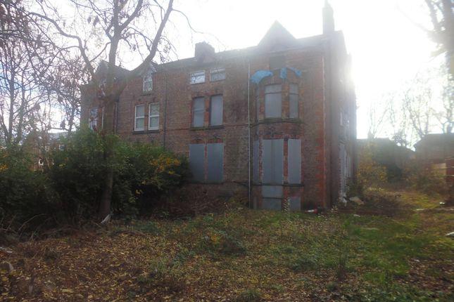 Thumbnail Semi-detached house for sale in Egerton Park, Birkenhead