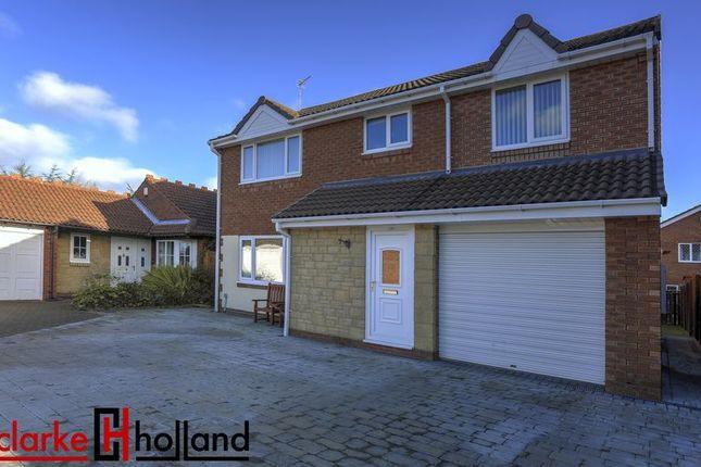 Thumbnail Detached house for sale in Linnet Court, Ashington