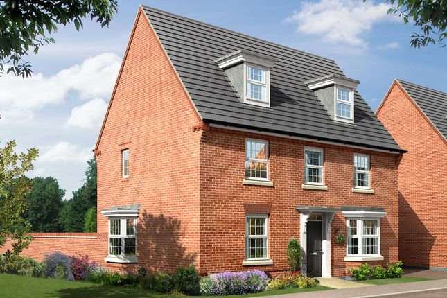 "Thumbnail Detached house for sale in ""Emerson"" at Morda, Oswestry"