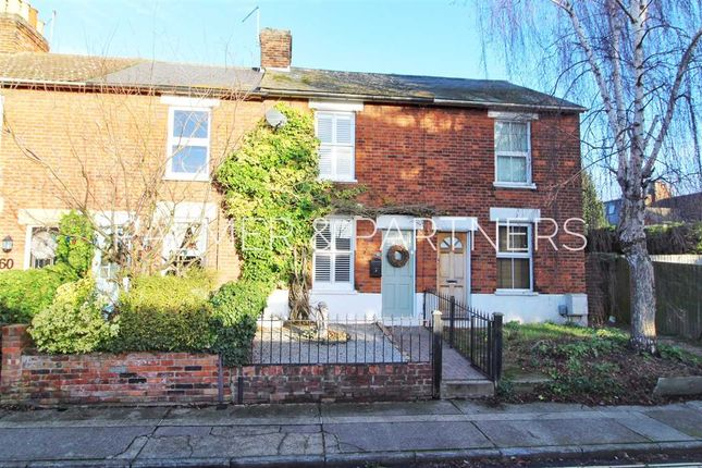 Thumbnail Terraced house for sale in Manor Road, St. Mary's, Colchester