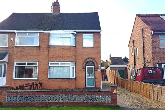 Thumbnail Semi-detached house to rent in Lawn Avenue, Peterborough