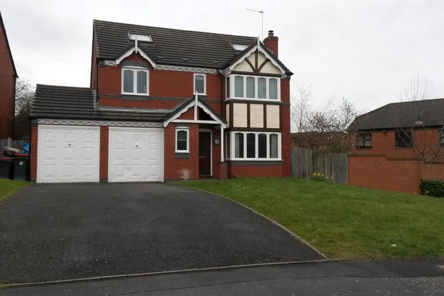 Thumbnail Detached house for sale in Kingfisher Way, Leegomery, Telford