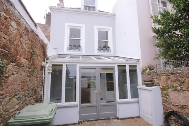 Thumbnail Terraced house for sale in Le Boulevard, St Aubin, St Brelade