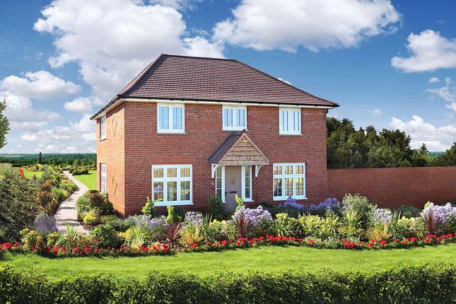 "Thumbnail Detached house for sale in ""Amberley"" at Cot Hill, Llanwern, Newport"