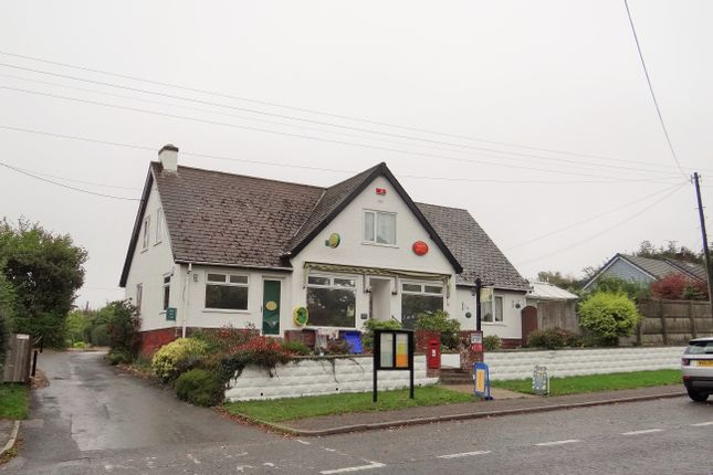 Thumbnail Retail premises for sale in Charmouth Road, Axminster, Devon