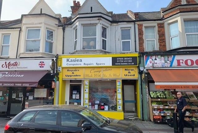 Thumbnail Retail premises for sale in 70, London Road, Southend-On-Sea