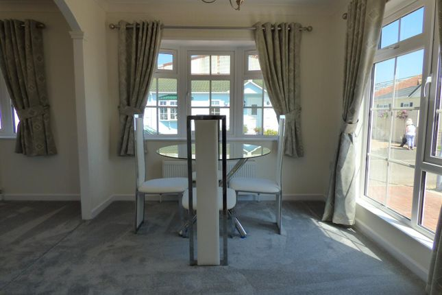 Dining Room of Severn Bridge Park Homes, Beachley, Chepstow NP16