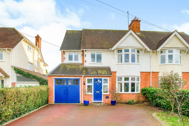 Thumbnail Semi-detached house for sale in Loxley Road, Stratford-Upon-Avon