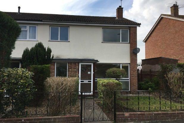 Thumbnail Semi-detached house to rent in Jocelyn Drive, Wells