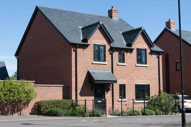 Thumbnail Detached house for sale in Clinton Crescent, Coton House Estate, Churchover