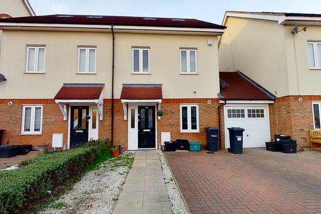 Thumbnail Semi-detached house for sale in Academia Avenue, Broxbourne