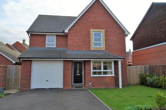 Thumbnail Detached house to rent in Greenwood Road, Hampton Vale, Peterborough