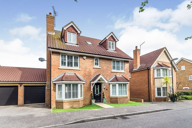 Thumbnail Detached house for sale in Olivier Drive, Wainscott, Rochester, Kent