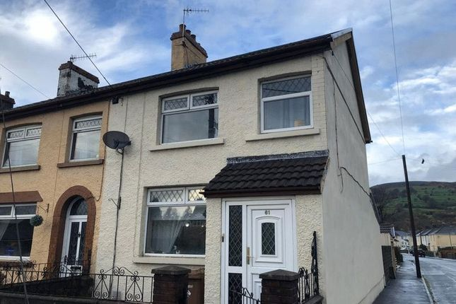 Thumbnail Terraced house to rent in Glebe Street, Bedwas, Caerphilly