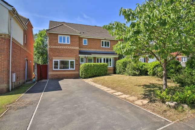 Thumbnail Detached house for sale in Woodruff Way, Thornhill, Cardiff