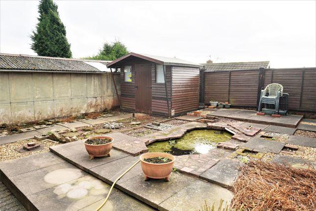 Garden of Caton Crescent, Milton Stoke-On-Trent ST6
